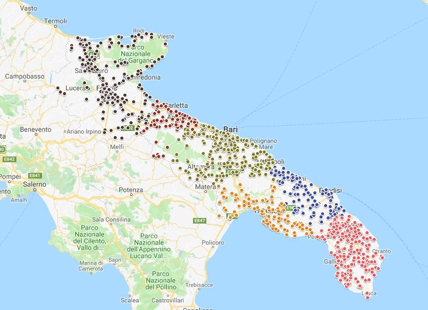 Cartina Autostradale Della Puglia.Asset Regione Puglia